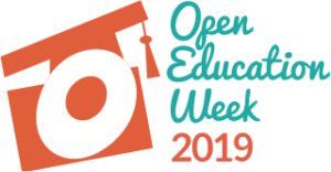 Logo for Open Education Week 2019